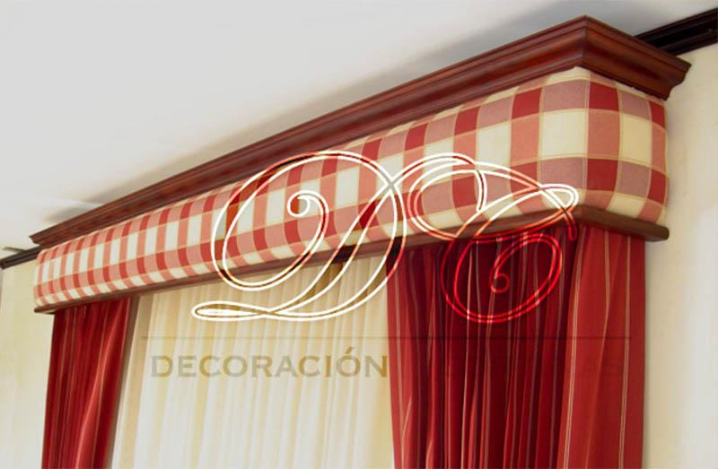 D c decoraci n y cortinas cenefas for Cortinas y decoracion